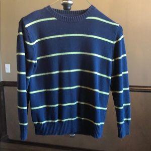 Gap Kids navy/yellow strip sweater